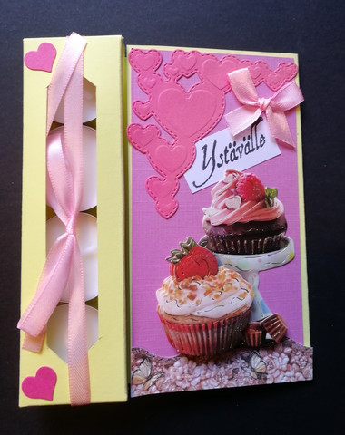Cupcakes candle card