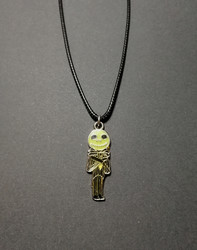 Halloween man necklace