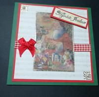 Kortti joulupukki ja lahjat
