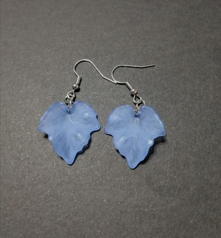 Korvakorut vaahteranlehdet sininen