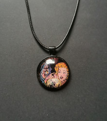 Fifties horror necklace