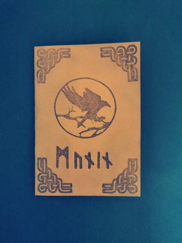 Viikinkikortti korppi