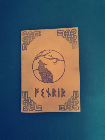 Viking card Fenrir