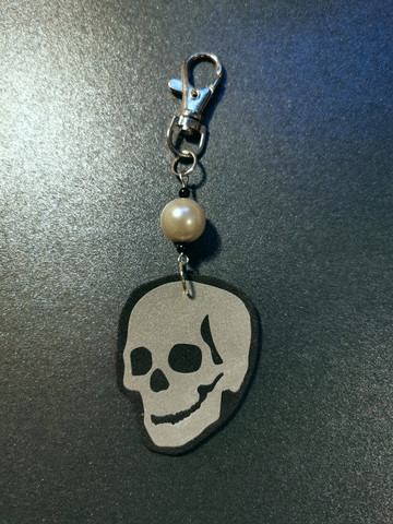 Skull bag chain