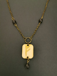 Rune necklace Fehu