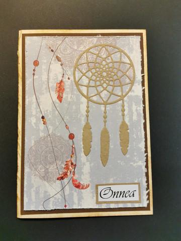Dreamcatcher card congratulations
