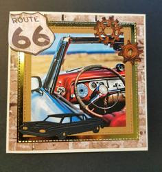 Autokortti route 66