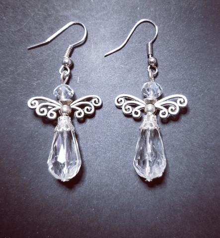 Bright angel earrings