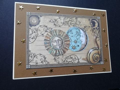 Kortti aurinko ja kuu
