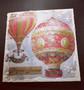 Hot air balloon christmas card 2