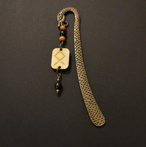 Viking bookmark