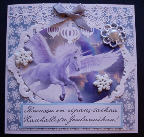 Pegasus christmas card