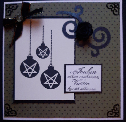 Pentagram Christmas card