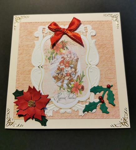 Christmas gnome Christmas card