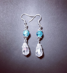 Ice Queen earrings