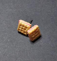 Cookie Stud Earrings