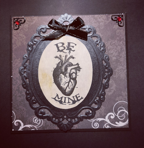 Valentine's day card Be Mine 3