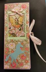 Fairy chocolate bar card