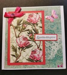 Flower retirement card