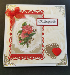 Flower engagement card