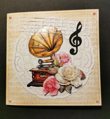 Kortti gramofoni