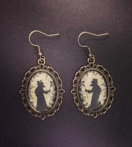 Plague Doctor earrings