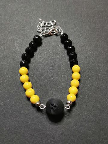 Bowling ball bracelet