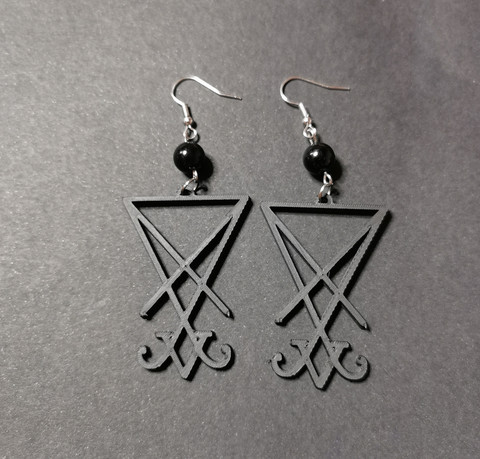 Lucifer earrings