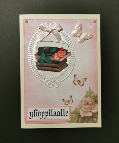 Butterfly graduate card