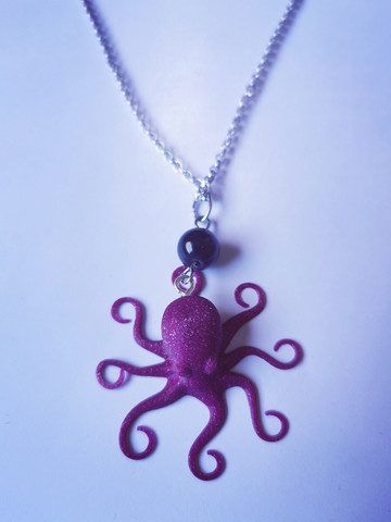 Redesan octopus necklace