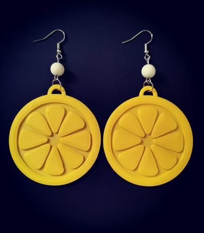 Sitruuna korvakorut