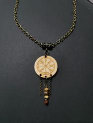 Viking Necklace Vegvisir