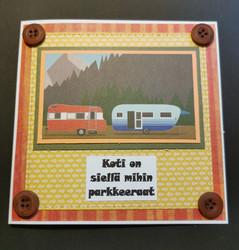 Matkailuvaunu kortti