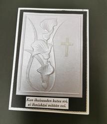 Mourning card calla