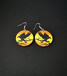 Korppi korvakorut oranssi