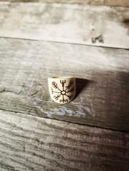 Vegvisir bone ring