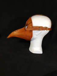 Full Plague Doctor Mask, brown
