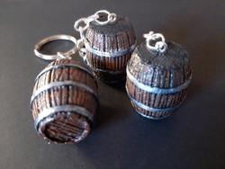 Barrel keychain