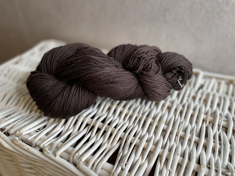 Malabrigo sock , väri 812 Chocolate amargo