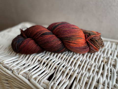 Malabrigo sock, väri 121 Marte