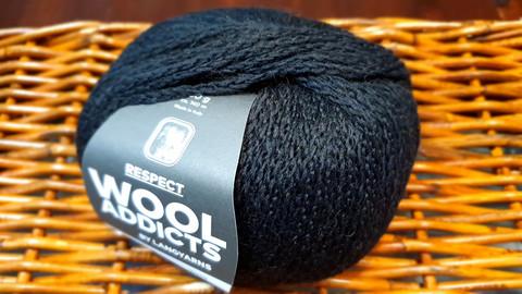Respect Wool Addicts 1025.0004 musta