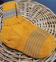 Naisten kelta-harmaat villasukat, koko 38