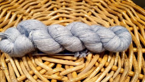 Malabrigo lace Polar morn