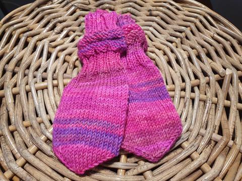 Pinkki ruttuvarsi tumput ½-1,5 vuotiaalle