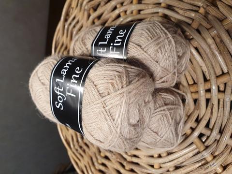 Soft Lama Fine 50 g beige