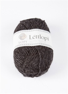 Lettlopi 10005 black heather