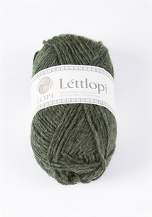 Lettlopi 11407 pine green heather
