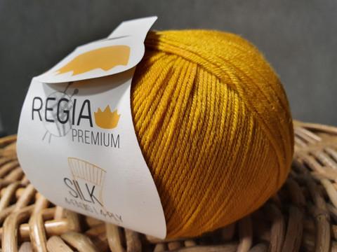 Regia premium Merino Silk, väri 0025 Gold