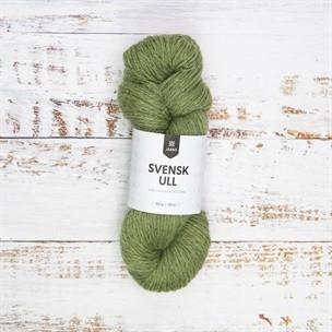 Svensk ull Midsummer green