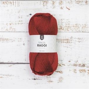Tencel Raggi Poppy red, 25004